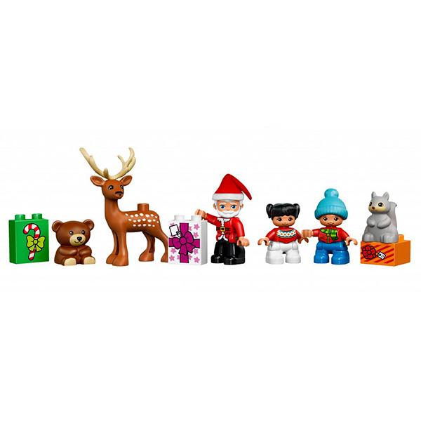 Лего Дупло 10837 Конструктор Новый год