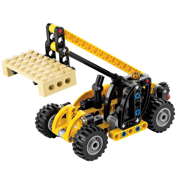Лего Техник 8045 Мини телескопический погрузчик