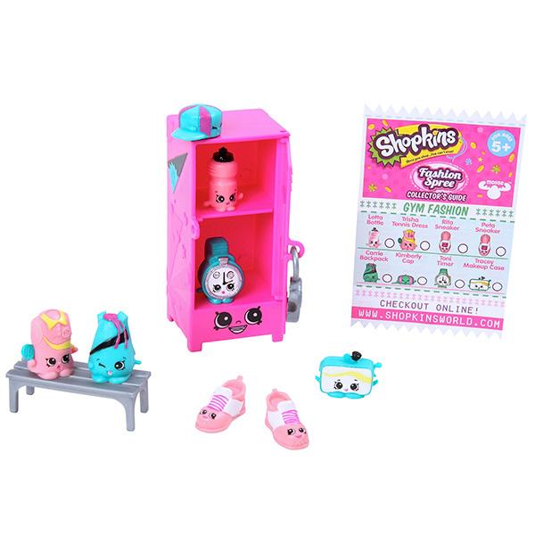 Shopkins 56297 Шопкинс Игровой набор Модная лихорадка Центр моды игровые наборы shopkins игровой набор веселая кухня