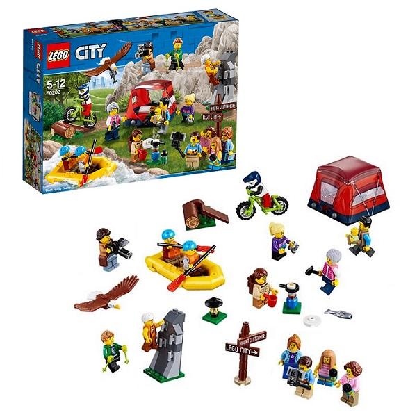 LEGO City 60202 Конструктор ЛЕГО Город Любители активного отдыха конструктор lego любители активного отдыха 60202