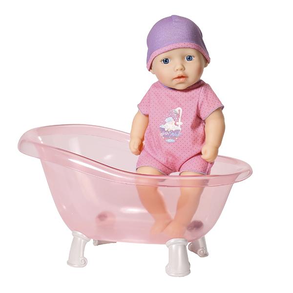 Zapf Creation Baby Annabell 700-044 Бэби Аннабель Кукла с ванночкой, 30 см zapf creation baby annabell 700 198 бэби аннабель одежда для теплых деньков