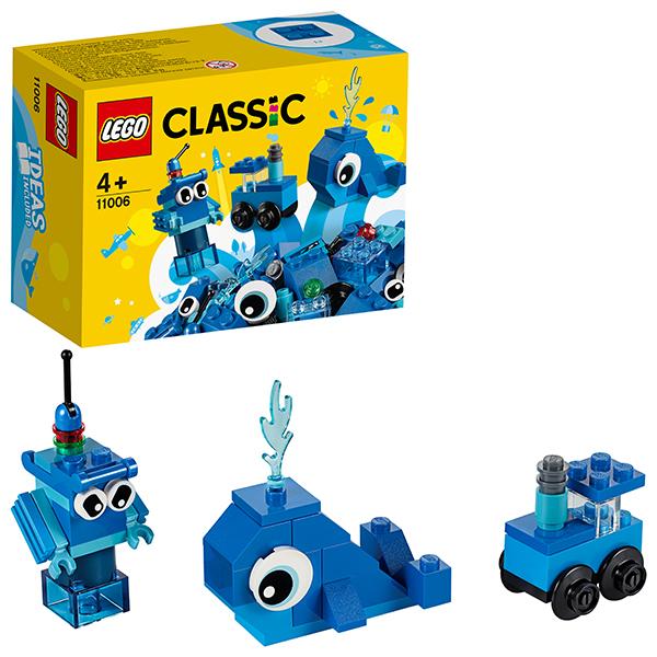 LEGO Classic 11006 Конструктор ЛЕГО Классик Синий набор для конструирования lego elves 41193 конструктор лего эльфы эйра и дракон песня ветра