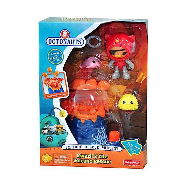 Mattel Octonauts CDP47 Октонавты Квази и спасение от вулкана