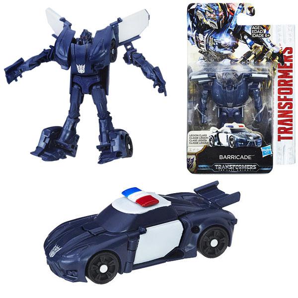 Hasbro Transformers C0889/C1329 Трансформеры 5: Баррикейд hasbro transformers c0884 c1313 трансформеры 5 уан степ баррикейд