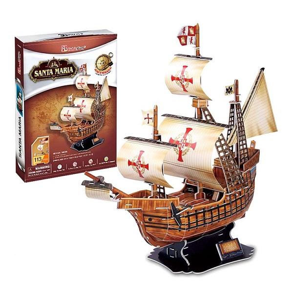 Cubic Fun T4008h Кубик фан Корабль Санта Мария цена
