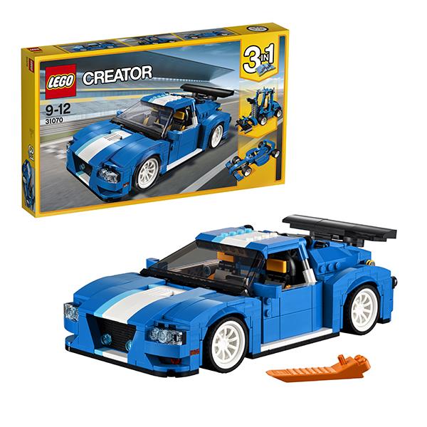 Lego Creator 31070 Конструктор Лего Криэйтор Гоночный автомобиль лак для ногтей naillook cream line 31070 цвет 31070 variant hex name 93b3d9