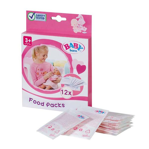 Zapf Creation Baby born 779-170 Бэби Борн Детское питание (12 пакетиков) zapf creation baby born 779 170 бэби борн детское питание 12 пакетиков