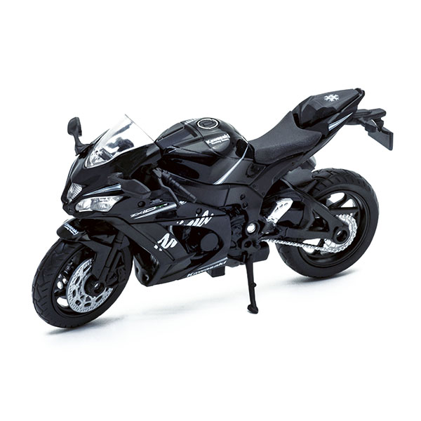 Welly 12845P Велли модель мотоцикла Kawasaki Ninja ZX-10RR welly 12154p велли модель мотоцикла 1 18 motorcycle yamaha 2001 yzf1000r thunderace