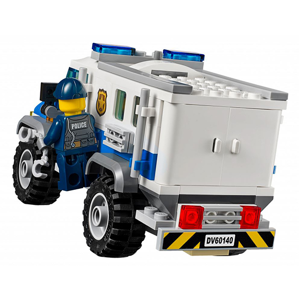 LEGO City 60140 Конструктор ЛЕГО Город Ограбление на бульдозере