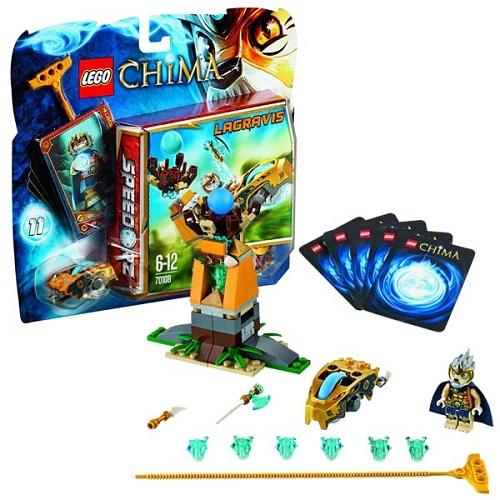 Lego Легенды Чима 70108 Конструктор Королевское ложе