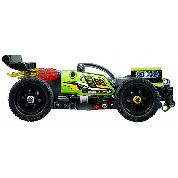Лего Техник 42072 Конструктор Зеленый гоночный автомобиль