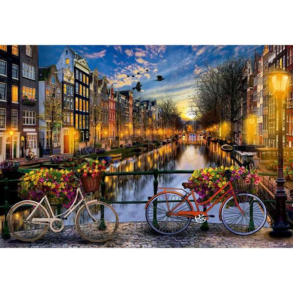 Educa 17127 Пазл 2000 деталей Амстердам educa пазл секретный сад