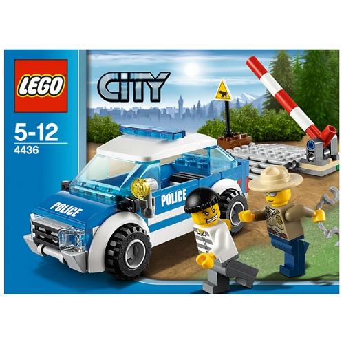 LEGO City 4436 Конструктор ЛЕГО Город Патрульная машина