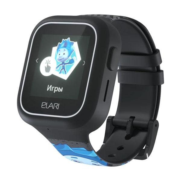 Elari ELFT-L/BLK Часы KidPhone FixiTime Lite черные elari elft l pnk часы kidphone fixitime lite розовые