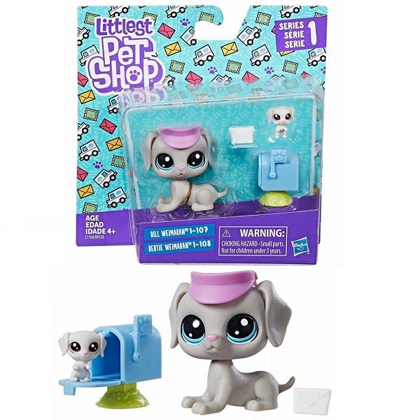 Hasbro Littlest Pet Shop B9358 Набор из двух петов