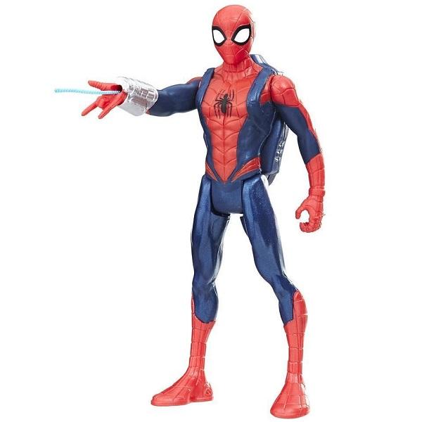 Hasbro Spider-Man E0808/E1099 Человек-Паук с аксессуарами hasbro фигурка с транспортным средством marvel spider man человек паук на мотоцикле