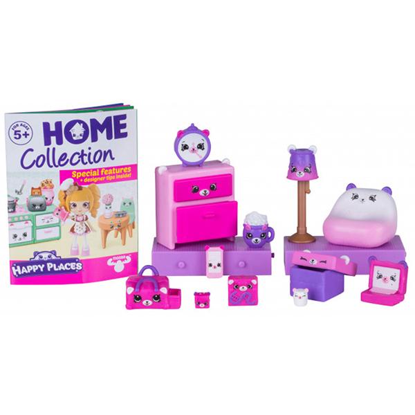 """Happy Places 56392 Игровой набор для декора """"Пижамная вечеринка с мишками"""""""