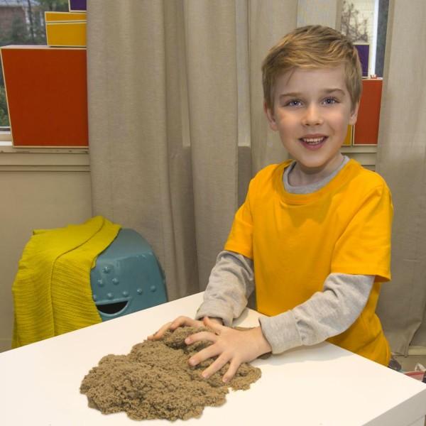 Kinetic sand 71400 Кинетик сэнд Кинетический песок для лепки 910 грамм, коричневый