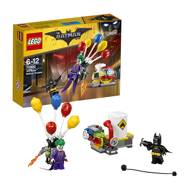 Lego Batman Movie 70900 Конструктор Лего Фильм Бэтмен: Побег Джокера на воздушном шаре lego 70900 batman movie побег джокера на воздушном шаре