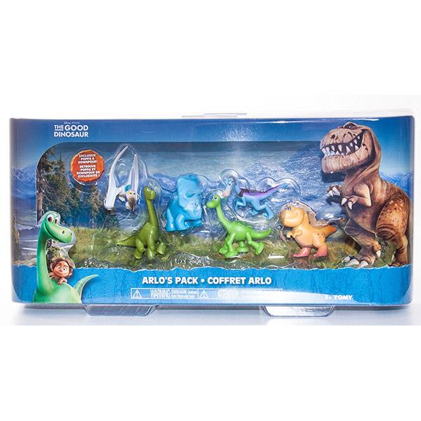 Good Dinosaur 62913 Хороший Динозавр Набор из 6-ти минифигурок (в ассортименте)