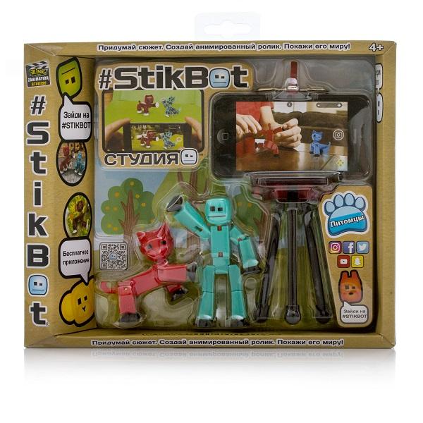 Stikbot TST615A Стикбот Студия с питомцем