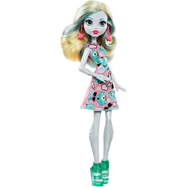 Mattel Monster High DVH20 Эмодзи Лагуна Блю куклы и одежда для кукол монстер хай monster high кукла скелита калаверас