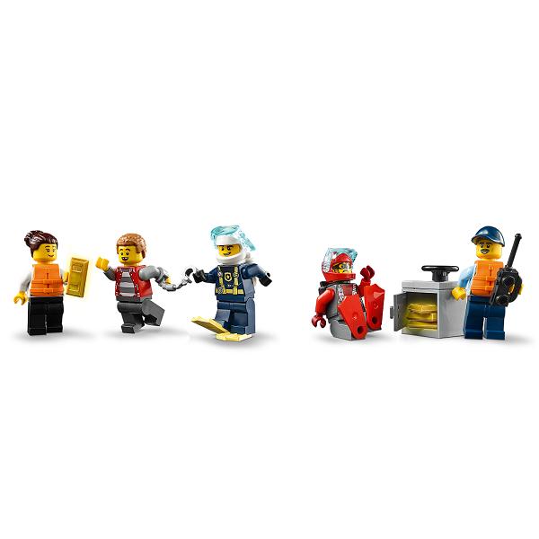LEGO City 60277 Конструктор ЛЕГО Город Катер полицейского патруля