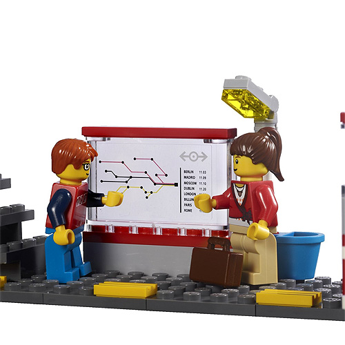 Lego City 7937 Конструктор Лего Город Железнодорожный вокзал