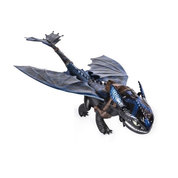 dragons 66621dg дрэгонс игровой набор дракон и фигурка смертолап и гриммель Dragons 66555 Дрэгонс Большой дракон Беззубик, дышит огнем