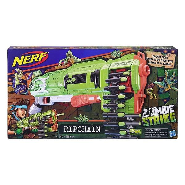 Hasbro Nerf E2146 Нерф Бластер Зомби Цепевик