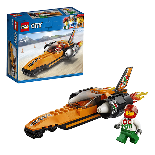 Lego City 60178 Конструктор Лего Город Гоночный автомобиль автомобиль б у из кореии