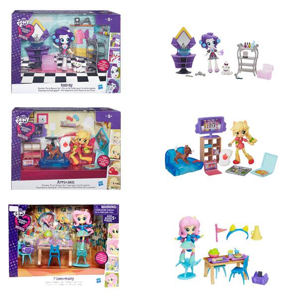 Hasbro My Little Pony B4910 Equestria Girls Игровой набор для мини-кукол (в ассортименте) набор для детского творчества набор д вышивания equestria girls