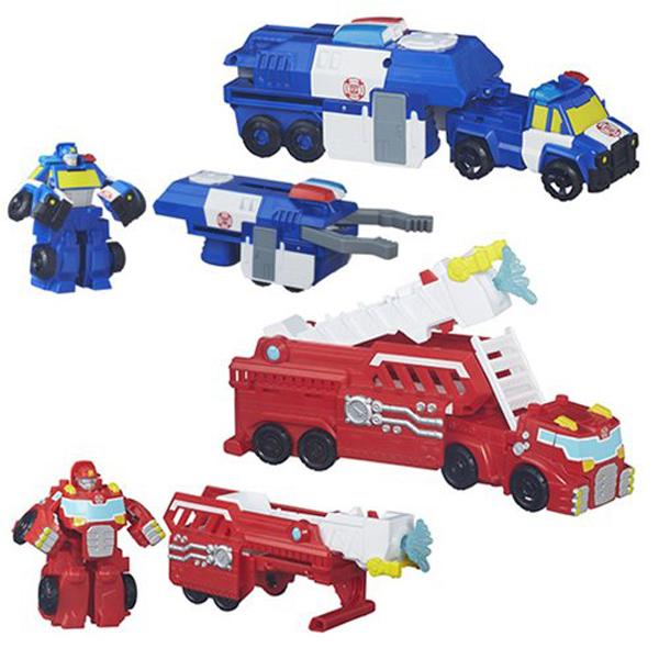 Hasbro Playskool Heroes B4951 Трансформеры Спасатели: Машинки-спасатели hasbro play doh игровой набор из 3 цветов цвета в ассортименте с 2 лет