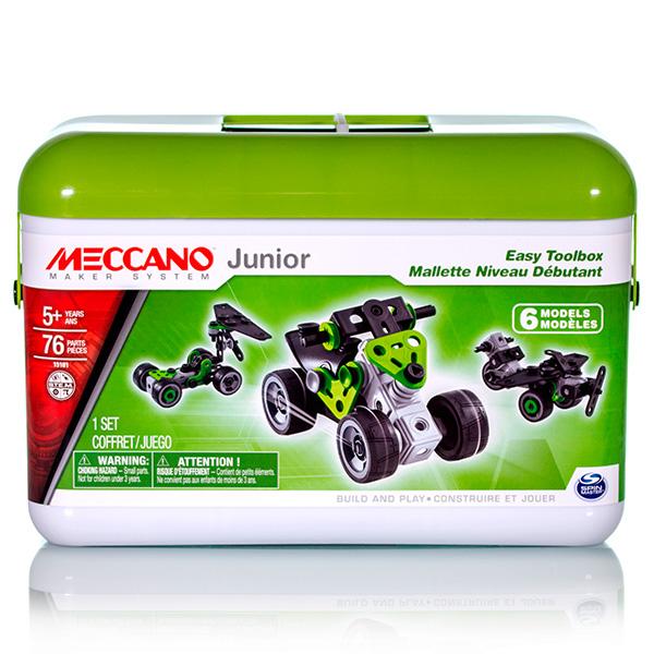 Meccano 91765 Меккано Набор Квадроцикл (4 модели) meccano 91806 меккано экскаватор