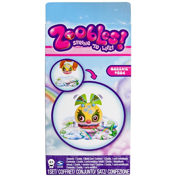 Zoobles 13258 Зублс набор из 1 Зублс с картой превращений