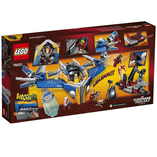 Конструктор Lego Super Heroes 76021 Лего Супер Герои Спасение космического корабля Милано