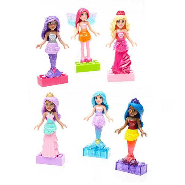 Mattel Barbie DPK90 Барби Набор фигурок персонажей мозаики barbie набор мозаика клатч барби