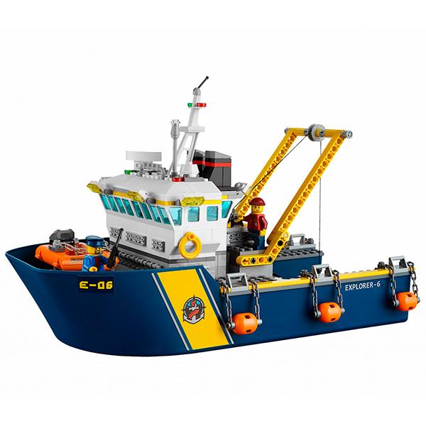 LEGO City 60095 Конструктор ЛЕГО Город Исследовательский корабль