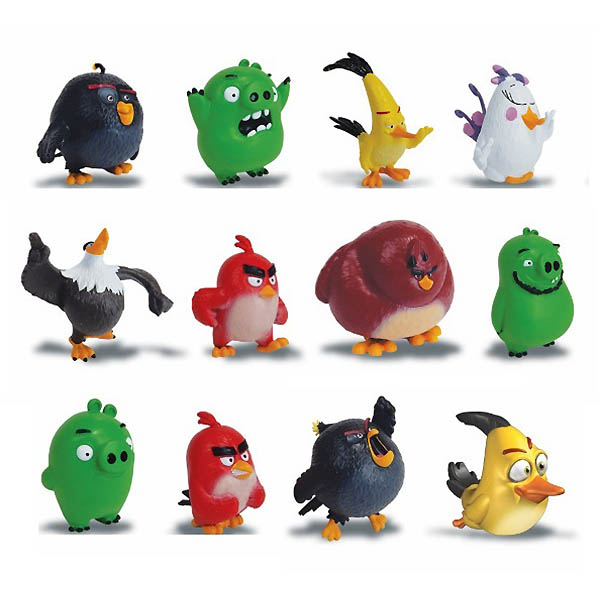 Angry Birds 90501 Энгри Бердс Коллекционная фигурка Сердитая птичка в ассортименте spin master коллекционная фигурка сердитая птичка angry birds 90501 40073074