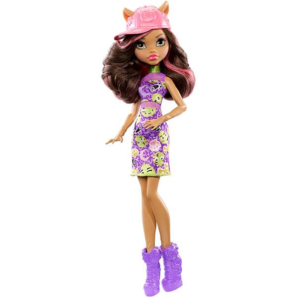 Mattel Monster High DWR98 Эмодзи Клаудин Вульф куклы и одежда для кукол монстер хай monster high кукла шапито jinafire long из серии