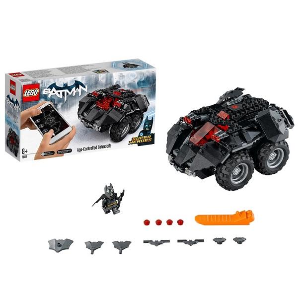 LEGO Super Heroes 76112 Конструктор ЛЕГО Супер Герои Бэтмобиль с дистанционным управлением lego super heroes 76119 конструктор лего супер герои бэтмобиль погоня за джокером