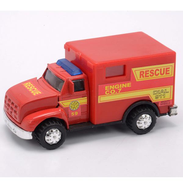 Soma 78178_9 Пожарная машина 12 см