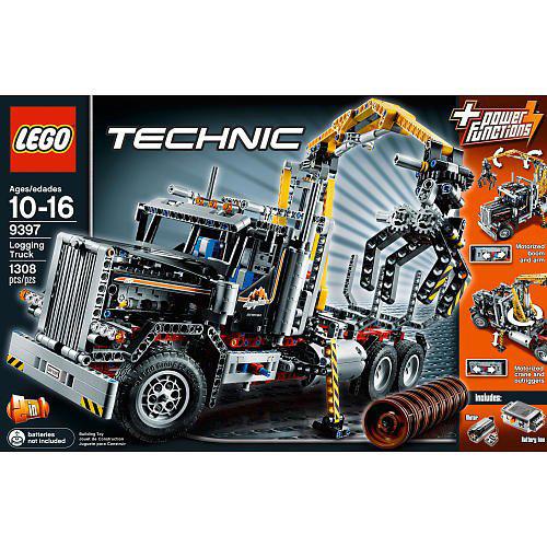 Lego Technic 9397 Конструктор Лесовоз