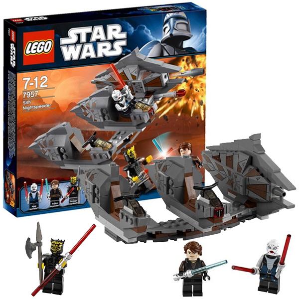 Lego Star Wars 7957 Конструктор Лего Звездные войны Спидер с Датомира