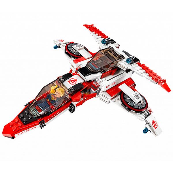 Lego Super Heroes 76049 Конструктор Лего Реактивный самолёт Мстителей: космическая миссия
