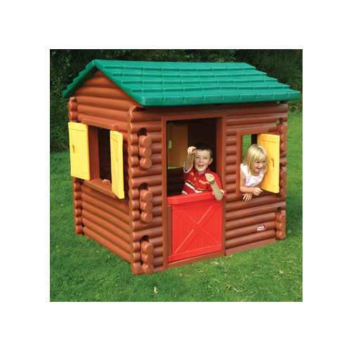 Little Tikes 4869L Литл Тайкс Игровой домик бревенчатый