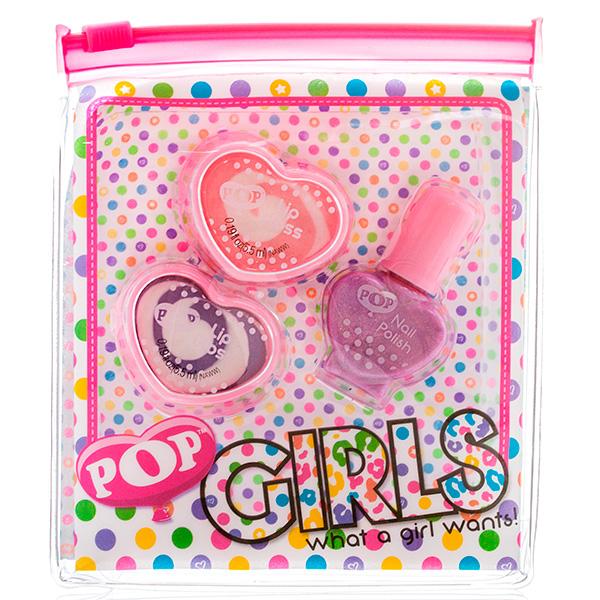 Markwins 3605051 POP Набор детской декоративной косметики для губ и ногтей markwins набор детской косметики pop girls