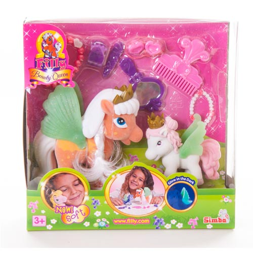 """Filly Fairy 60-51 Филли Феи Игровой набор """"Семья лошадок Филли с аксессуарами"""""""