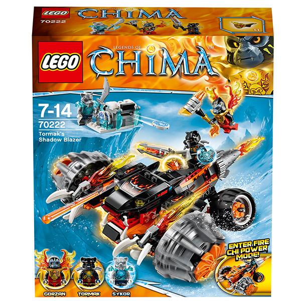 Lego Legends of Chima 70222 Конструктор Огненный вездеход Тормака
