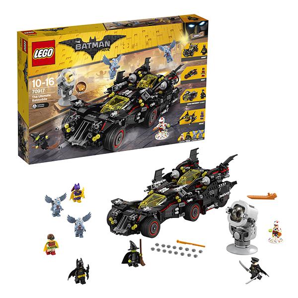 Lego Batman Movie 70917 Конструктор Лего Фильм Бэтмен: Крутой Бэтмобиль lego batman movie блокнот бэтмен96 листов в линейку